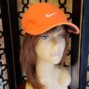 NWT Nike Orange Unisex Golf Hat